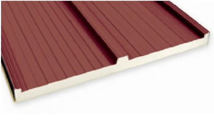 Panel sandwich para el aislamiento eriplas for Panel aislante termico