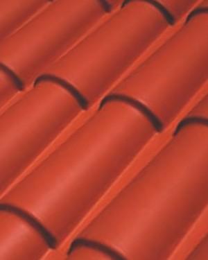 Plancha ondulada imitación a teja
